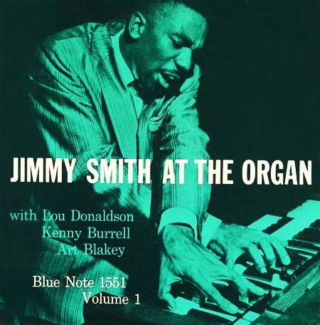Jimmy Smith, Blue Note 1551 jazz album cover