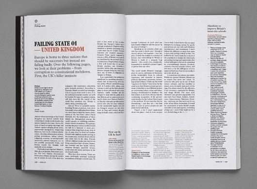 Modern Publicity #grid #layout #design #magazine