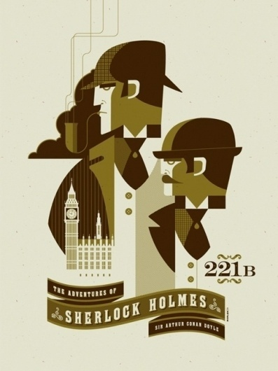 Possibly The Coolest Posters In The World! No.8   SEO, Web Design, Social Media   ryanfmc #sherlock