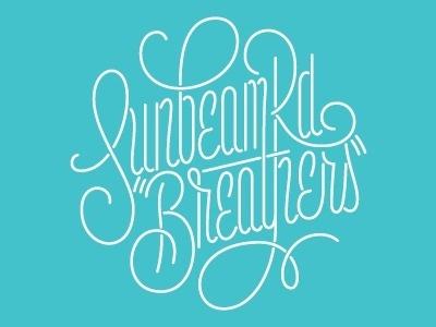 Dribbble - Sunbeam Rd - #lettering