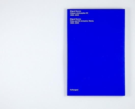 Atelier Carvalho Bernau: Miguel Soares: Video and Animation #design #atelier #book #bernau