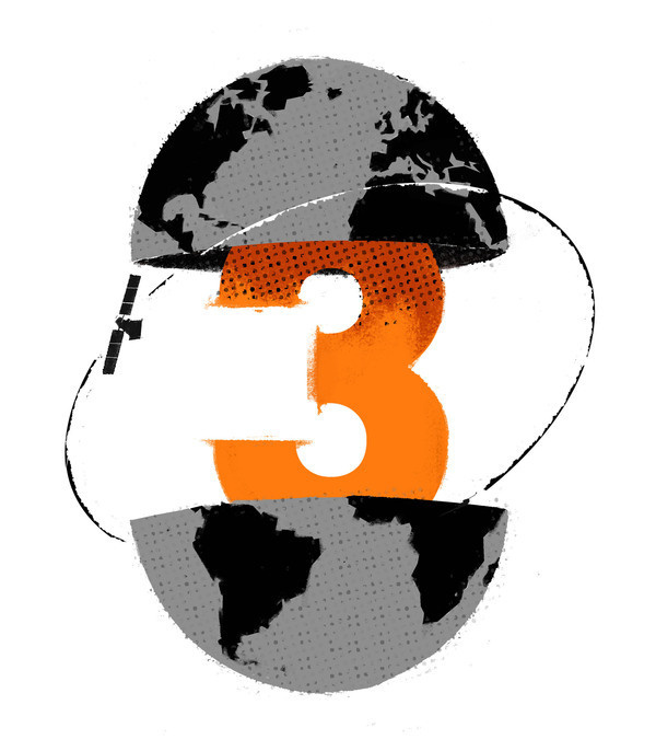 Three Wired on Behance #illustration