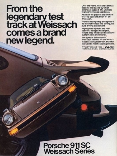Porsche ads | Cartype #1980 #porsche #sc #911 #car