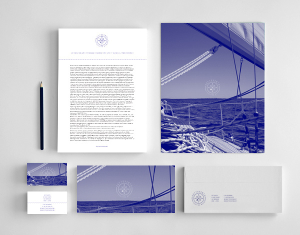 Sottovento Yachting Wear Shop - Corporate identity #vetica #business #branding #card #corporate #identity #logo #francesco