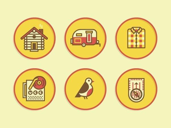 Merit Badge Icons 2 #icon #set