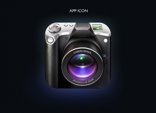 Camera Genius App Interface on the Behance Network #icon #camera #fler