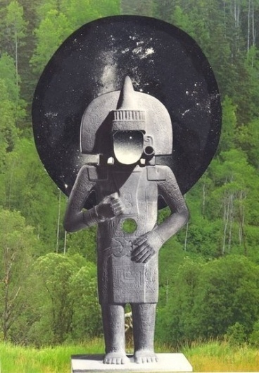 INFORMATION IS THE FIFTH DIMENSION. - josh slater #collage #ethnic