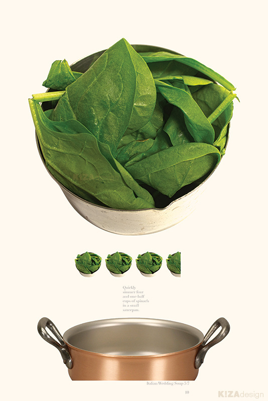 Visual Victuals – Visual Cookbook - 100-Page Analytical Cookbook #infographic #layout #book #book design #infographics #photography #page