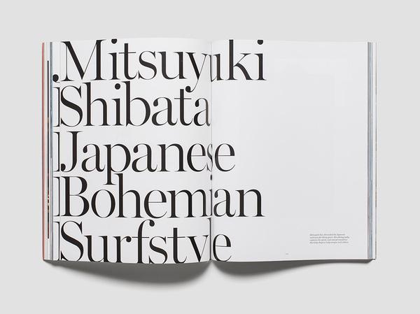 12 saturdays #serif #editorial #typography