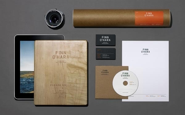 Finn O'Hara Identity Design by Tag Collective #identity #branding