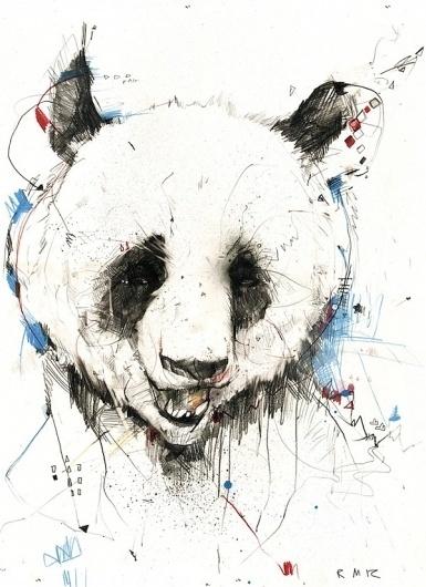 My Modern Metropolis #illustration #panda