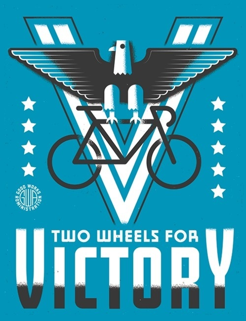 Design Envy #victory #wpa #poster