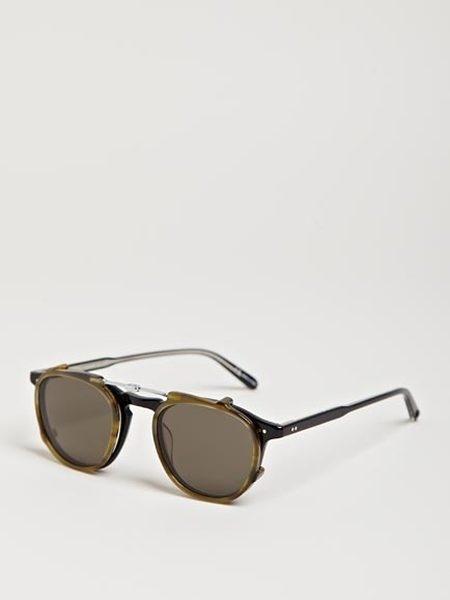 Garrett Leight Hampton Clip On Sunglasses in for Men (multi) Lyst #glasses #leight #sunglasses #garrett #shades