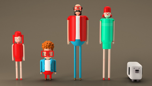 TCL - Led Tv #animation #design #plenty #direction #tcl #tv #art #character #led