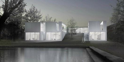 New Bauhaus Museum / Johann E. Bierkandt | ArchDaily #architecture #rendering