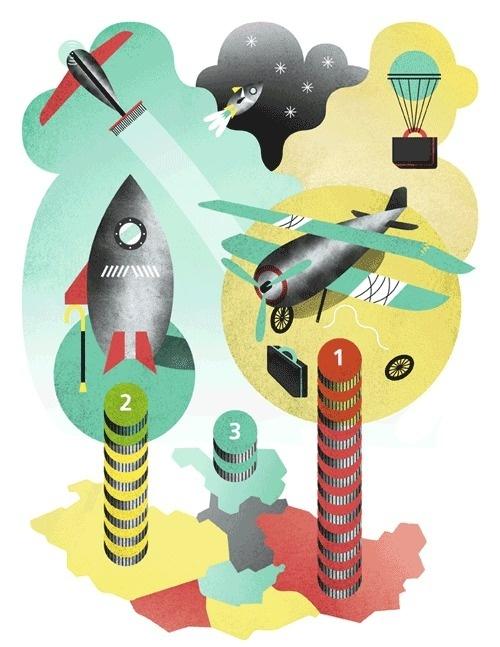 Keva Magazine Anna Kaisa Jormanainen #illustration