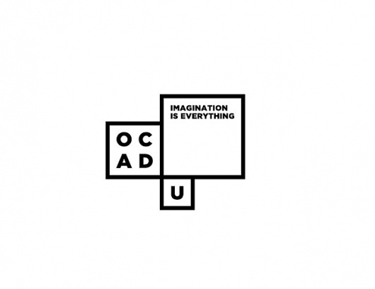 OCAD University | Identity Designed #logo #square #university