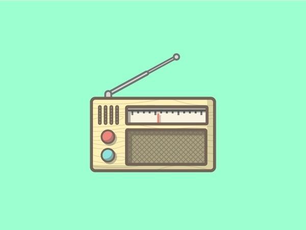 Radio! #illustration