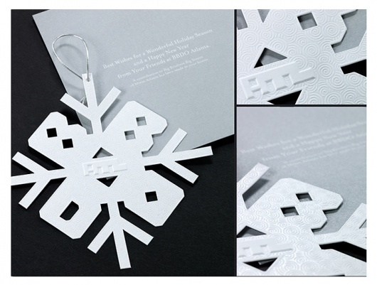 BBDO ATLANTA   JEFF OEHMEN #card #jeff #design #holiday #oehmen #bbdo