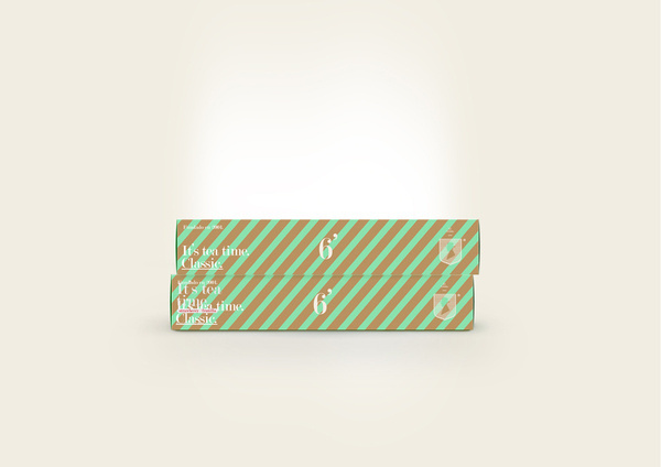 El Aristo® #red #packaging #design #color #minimalism #simple #tea #logo