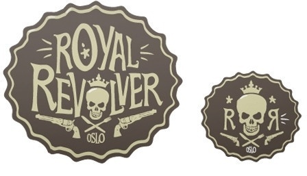Revolver - The Metric System #brandind #the #metric #system #guns #identity #skulls