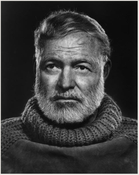 by Yousuf Karsh #photography #hemingway #portrait