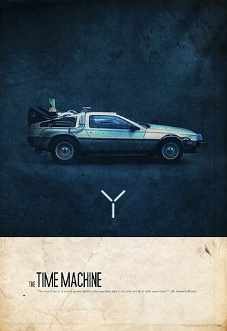 FFFFOUND! | 9GAG - New Definition of Fun #machine #back #time #poster #future