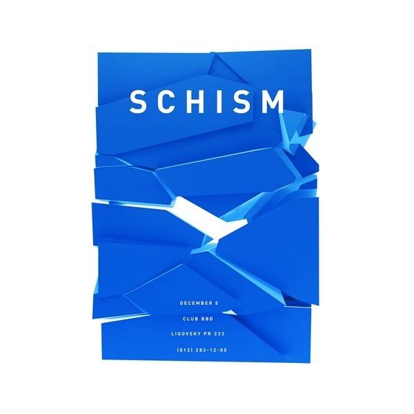 Schism #blue #chism #poster
