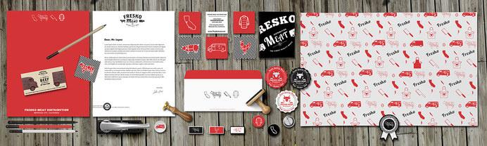 Fresko Meat Branding on Behance #meat