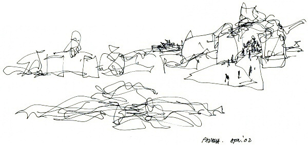 Gehry Partners, LLP :: Home #gehry #concept #architecture #frank #sketch