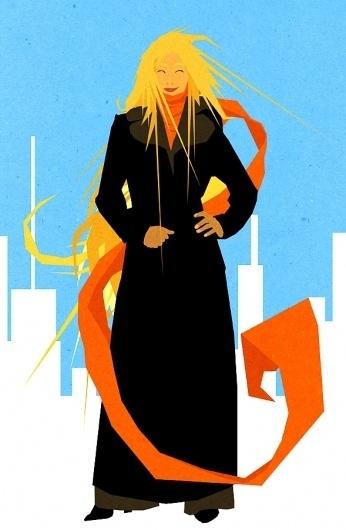 9733f3bea7220c4c.jpg 589 × 900 pixels #blond #woman #city #scarf #coat #lady #winter