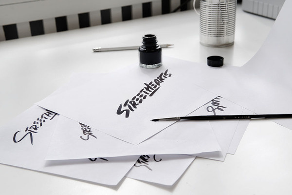 Love this #ink #streethearts #branding