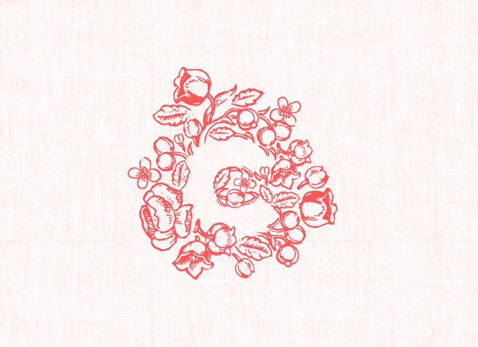 Charm Floral Co. logo