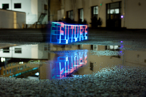 Future reflection #light