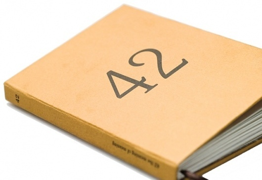 42 - The Meaning of Meaning | Simon Corry - Science & Creativity #print #design #graphic #book