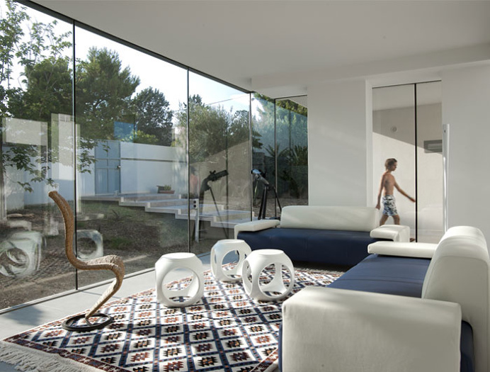 L-shaped Family House - #architecture, #house, #home, #decor,