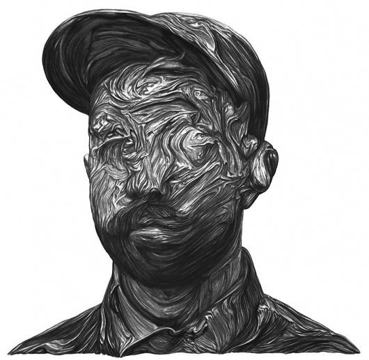 woodkid.jpg (704×688) #album #woodkid #cover #illustration #portrait #music