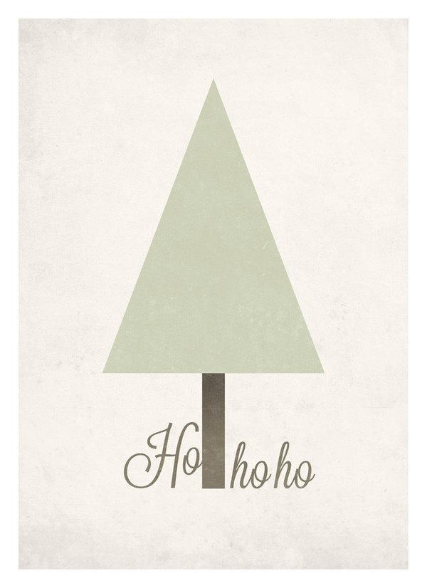 Minimal Christmas tree graphic poster #print #design #graphic #decor #neuegraphic #wall #poster #art
