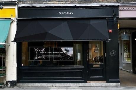 Guy & Max / Identity / Folio / Proud Creative +44 20 7729 6170 #store #front #branding
