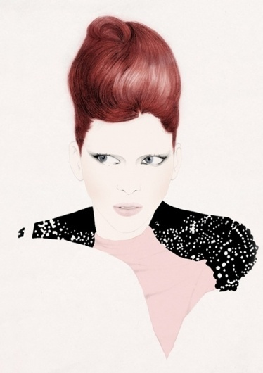 Ilustraciones de Carlos Egan #fashion #illustration