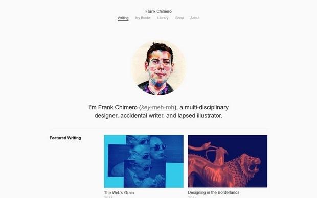 Minimalny Inspiration N° 3 #webdesign #minimaldesign #portfolio