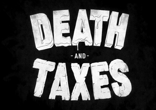 Typeverything.com 'Death and Taxes' by Ant Baena. - Typeverything #type