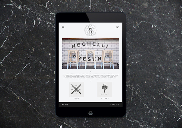 Neghelli 11 by Roberta Farese 16 #ipad #design #graphic #digital #identity #typography