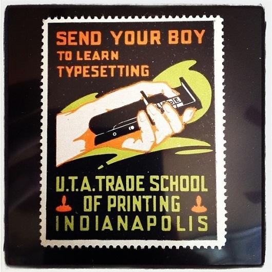 Instagram #illustration #vintage #poster #typography