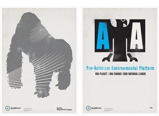 Mark Brooks Graphik Design » SANTAMONICA LW #mark #brooks #poster