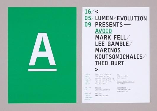 Qubik Design +44 (0)113 226 0839 #flyer #qubik #typography