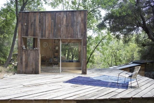 Cabin in Topanga3 #interior #design #decor #wood #architecture #deco #cabin #decoration