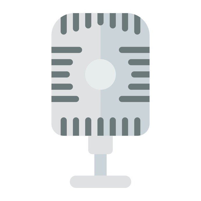 See more icon inspiration related to radio, microphone, sound, voice recording, vintage and technology on Flaticon.