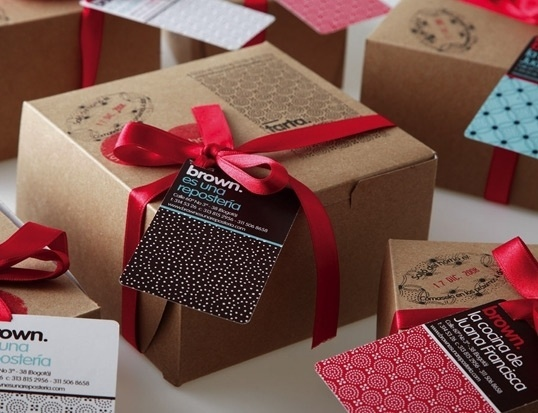 Brown | Lovely Package #packaging