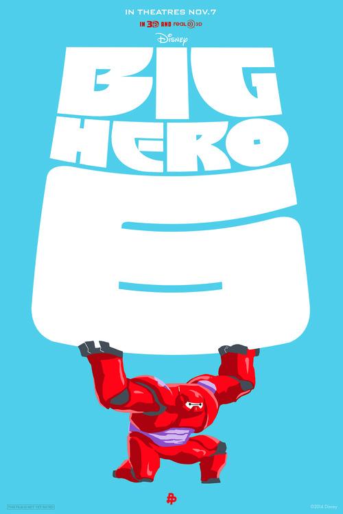 Sharm Murugiah — Big Hero 6 / Disney / Poster Posse